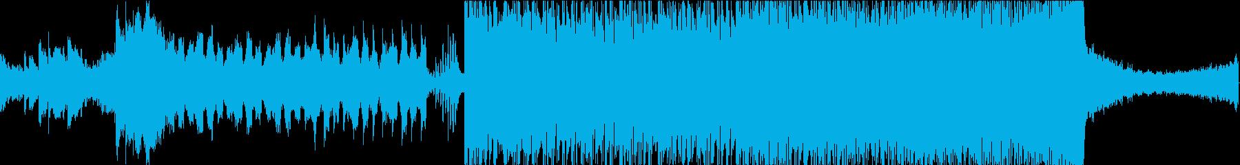 期待感の高まるライブ入場SEやCM60秒の再生済みの波形