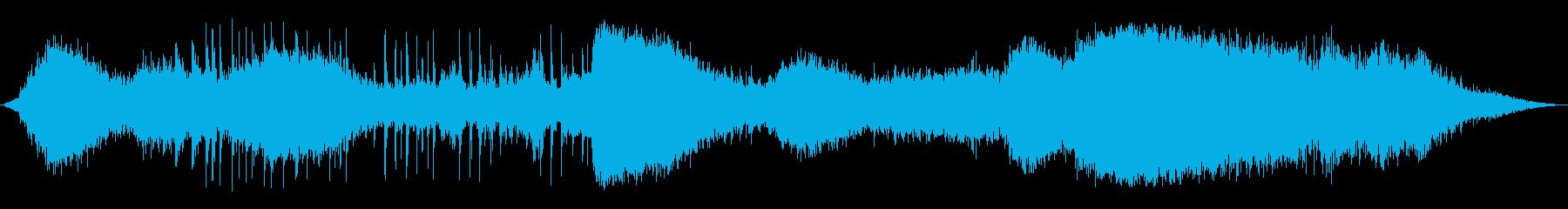 サッカーアンビエント2 0-25の再生済みの波形