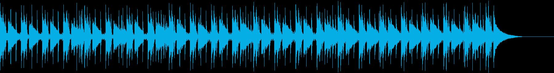 Pf「序章」和風現代ジャズの再生済みの波形