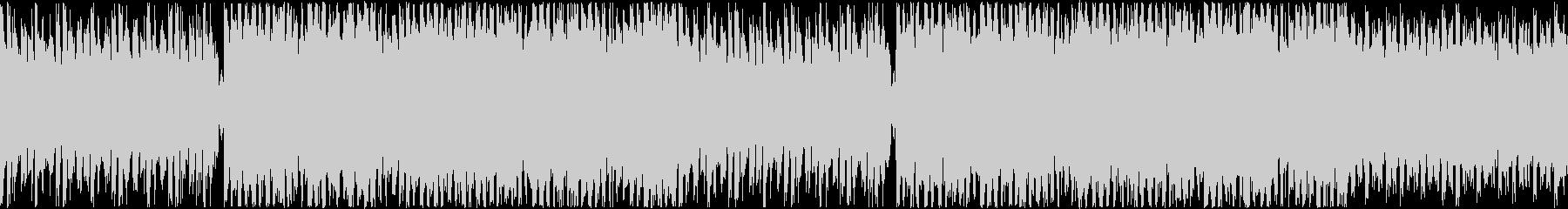 楽しい雰囲気のラジオフリートークBGMの未再生の波形