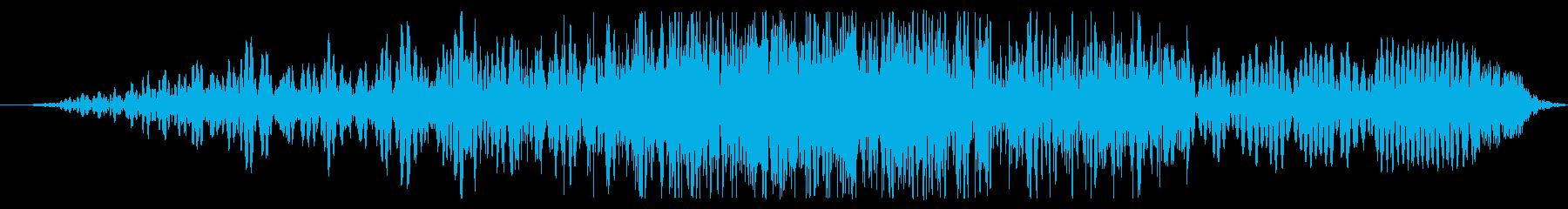 着信データスライドサックの再生済みの波形