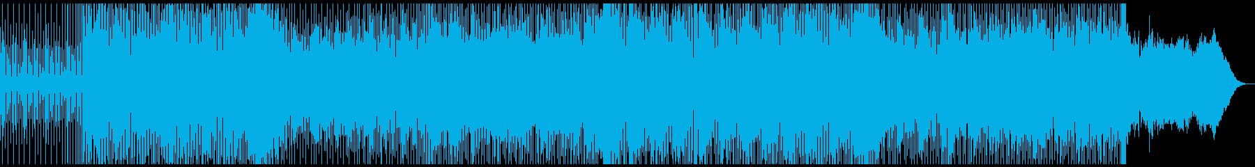 ふわふわとした牧歌的エレクトロニカの再生済みの波形