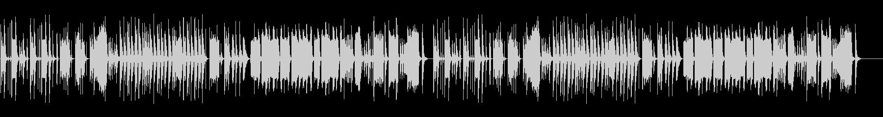 マヌケな脱力系の曲2の未再生の波形