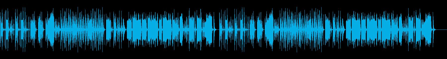 マヌケな脱力系の曲2の再生済みの波形