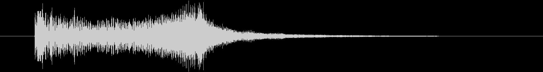 サウンドロゴ_ストリング_怖い_ダークの未再生の波形