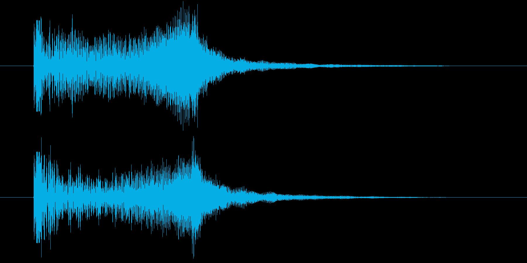 サウンドロゴ_ストリング_怖い_ダークの再生済みの波形