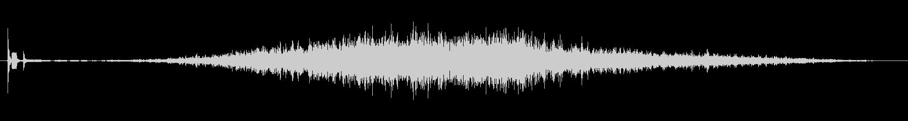 ピ、ブォーン、ピ、レンジフード操作音の未再生の波形
