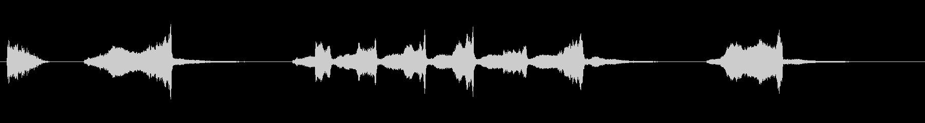 モール3の未再生の波形