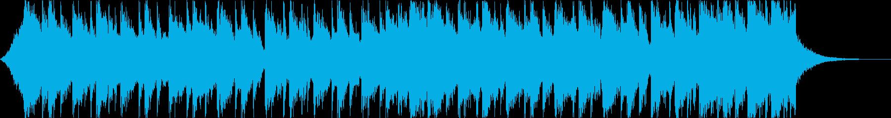 洋楽トラップヒップホップパリピEDMdの再生済みの波形