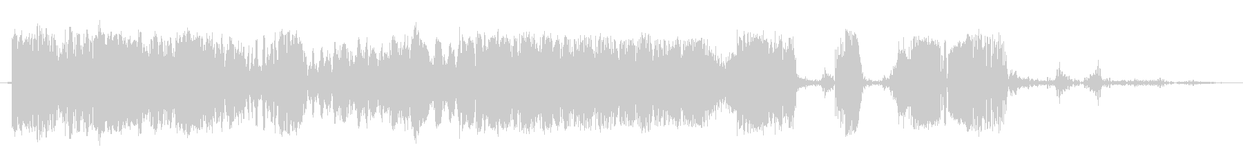 スクラッチカットトランジション1の未再生の波形