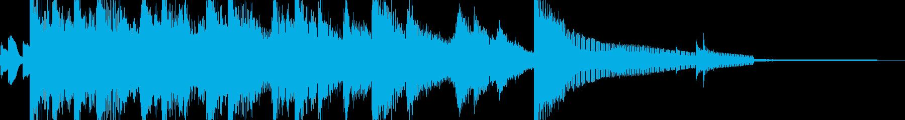 夜景デートを彩るジャズジングルの再生済みの波形