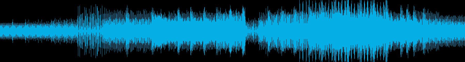 ディープ・ハウス。夜の音楽。テンシ...の再生済みの波形
