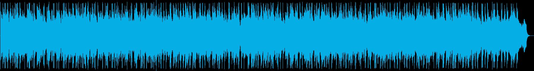 穏やかで明るいイージーリスニング曲の再生済みの波形