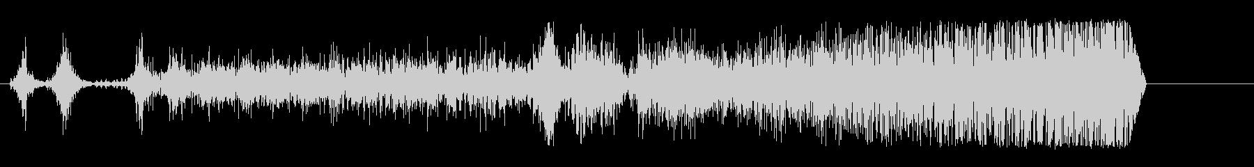 ドラッグスター;回転数/アイドル、...の未再生の波形