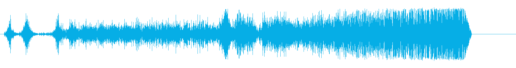 ドラッグスター;回転数/アイドル、...の再生済みの波形
