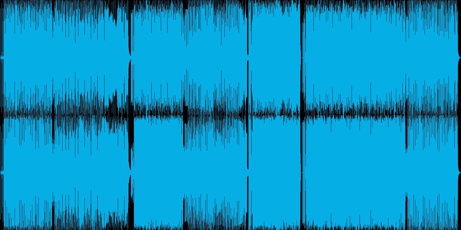 変拍子っぽいオルタナロックの再生済みの波形