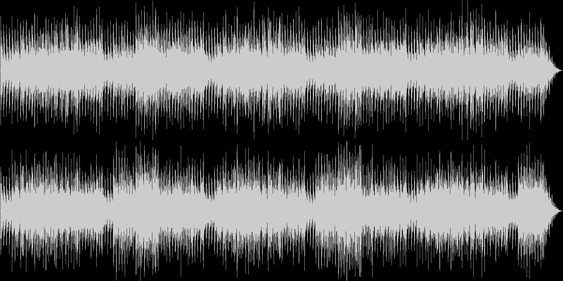 アイリッシュやケルト風の雑多な民族音楽の未再生の波形