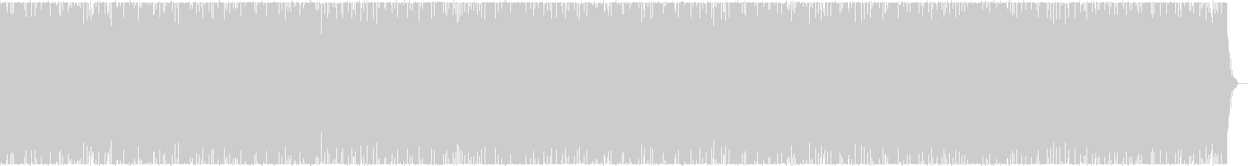 Bouncy BGM's unreproduced waveform