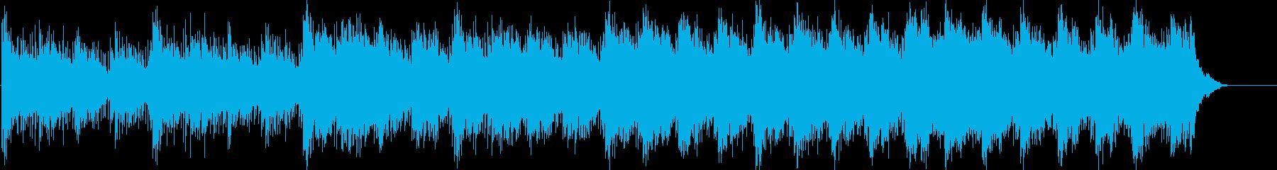 スリリングな謎を解き明かすイメージの再生済みの波形