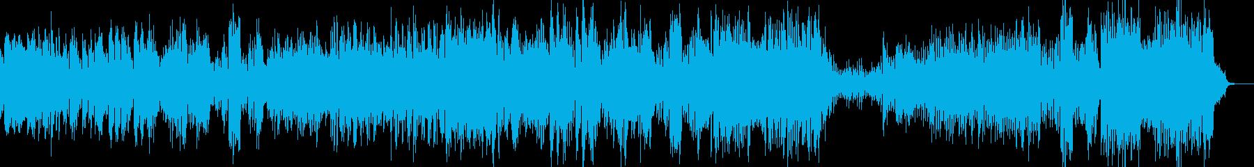 かわいい童話テイストのワルツ dの再生済みの波形