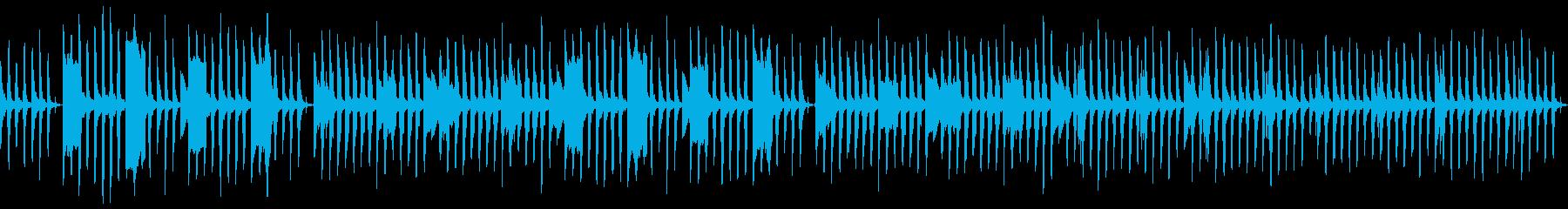 動画向け!気の抜けるリコーダー脱力系の再生済みの波形