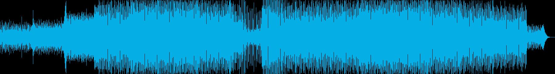 EDM疾走感のあるドラマチックなクラブ系の再生済みの波形