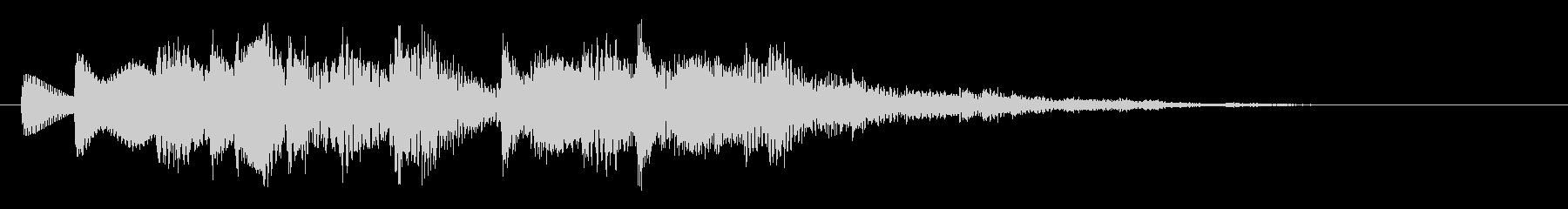 着信音 メロ01の未再生の波形
