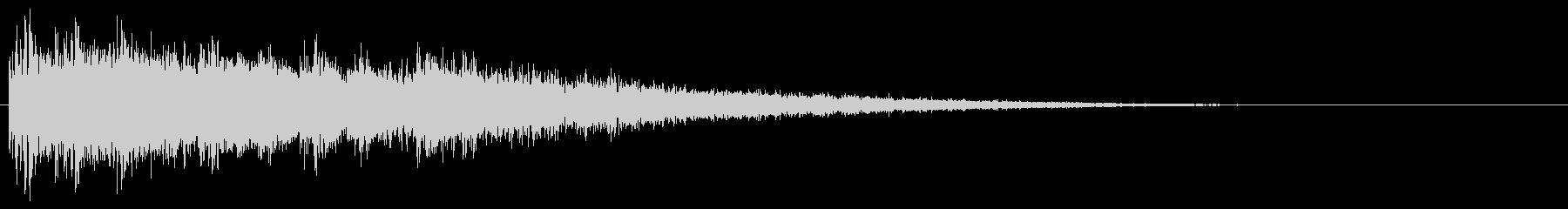 タイトルバック ホラー 14の未再生の波形
