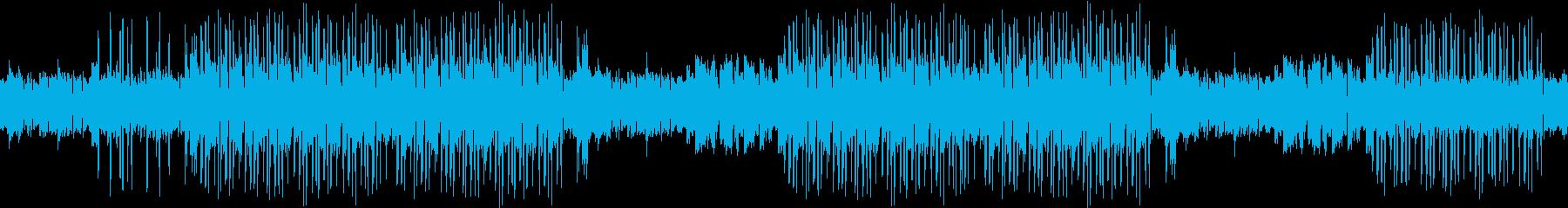 ギター・センチメンタル・葛藤・ループの再生済みの波形