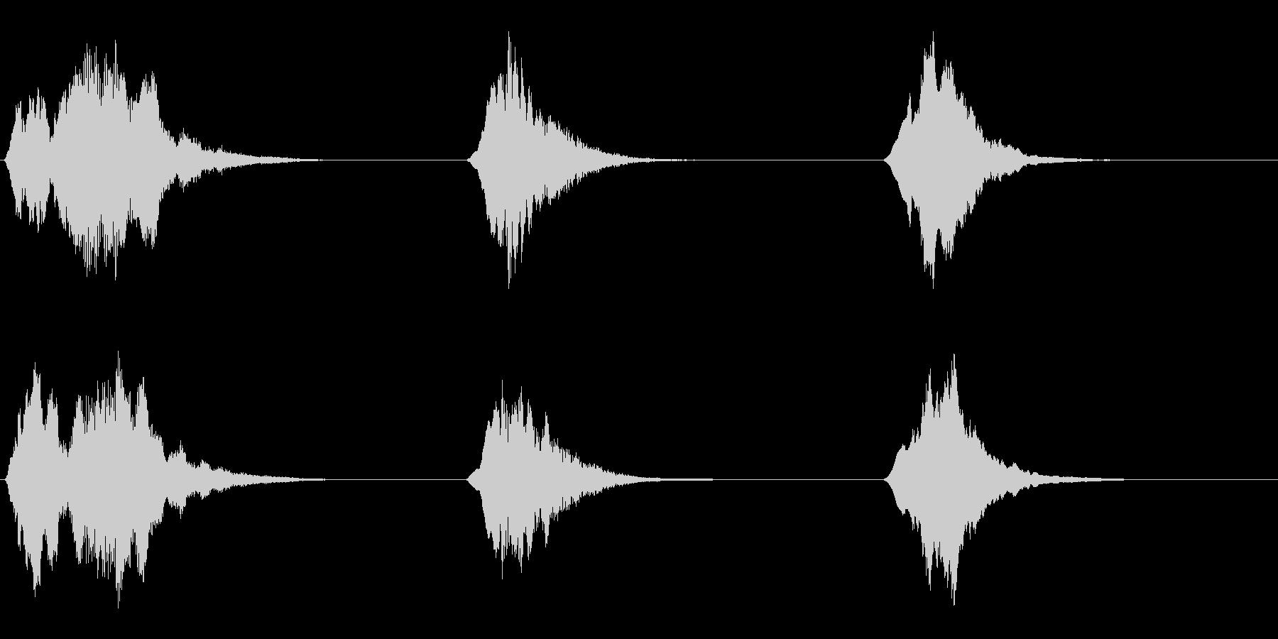 金属ゲート;不気味なオープニングス...の未再生の波形