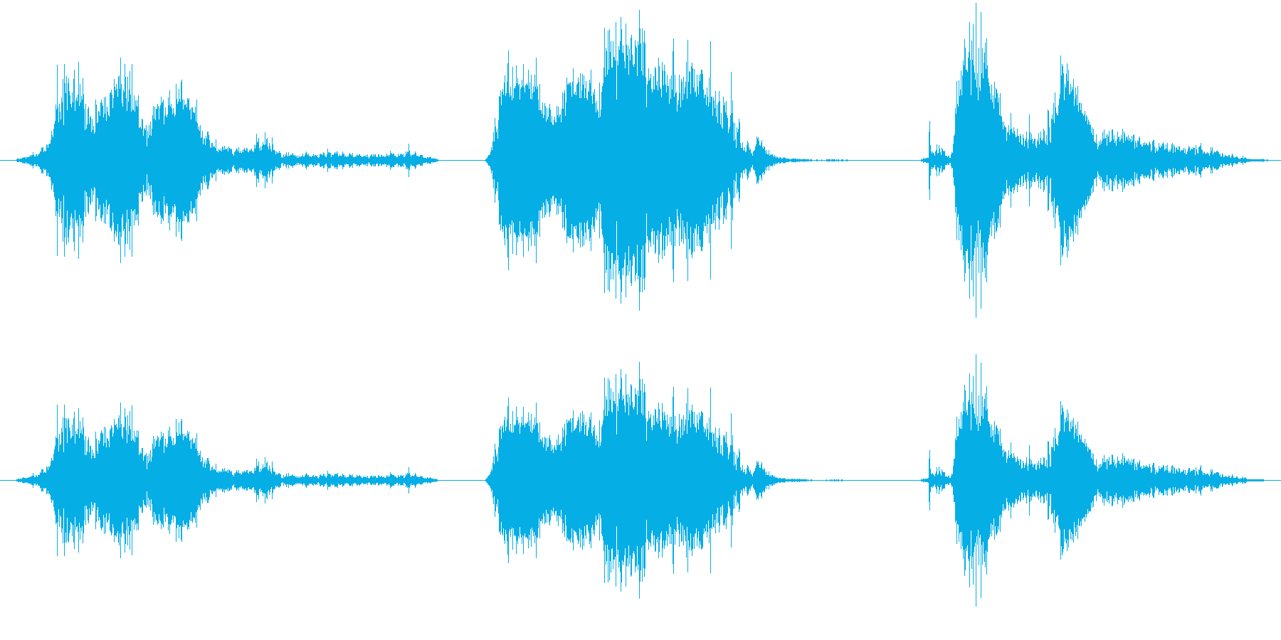 大型ラットの鳴き声クリーチャーのう...の再生済みの波形