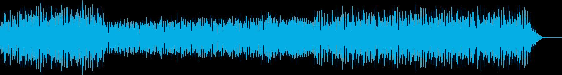 YouTuber用ファミコン風BGM2の再生済みの波形