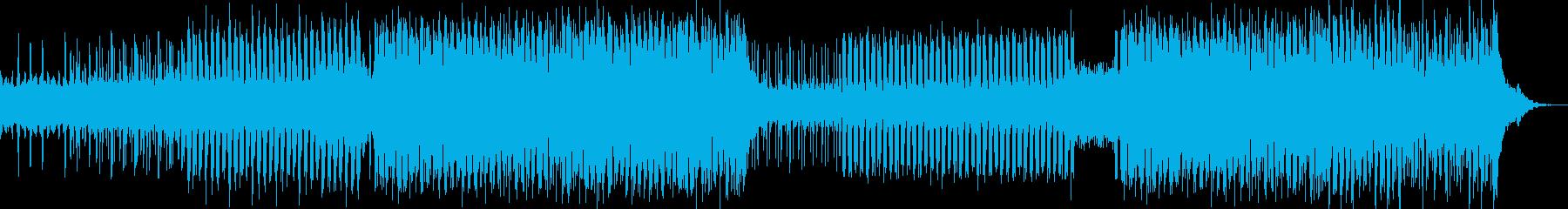 ワールドミュージックの微妙な影響を...の再生済みの波形