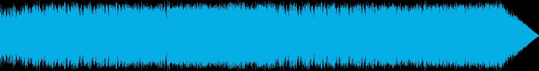 ファンタジーRPGの戦闘シーンを想定し…の再生済みの波形