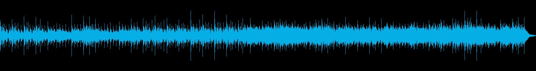 おしゃれでコミカルなリズムのメロディーの再生済みの波形
