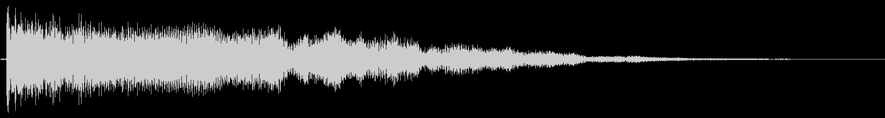 【エレキギター】クリスタル系な音の未再生の波形