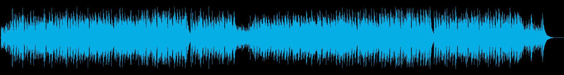 透明なハートウォームなスロー・ポップスの再生済みの波形