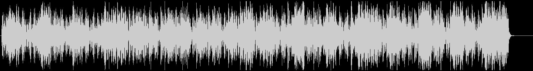 クールなモータウン調ヒップホップ的BGMの未再生の波形
