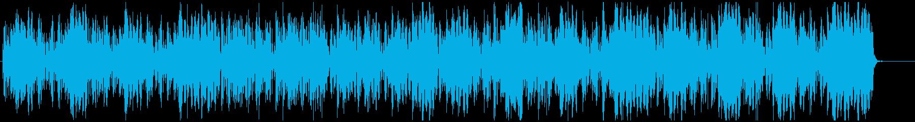 クールなモータウン調ヒップホップ的BGMの再生済みの波形