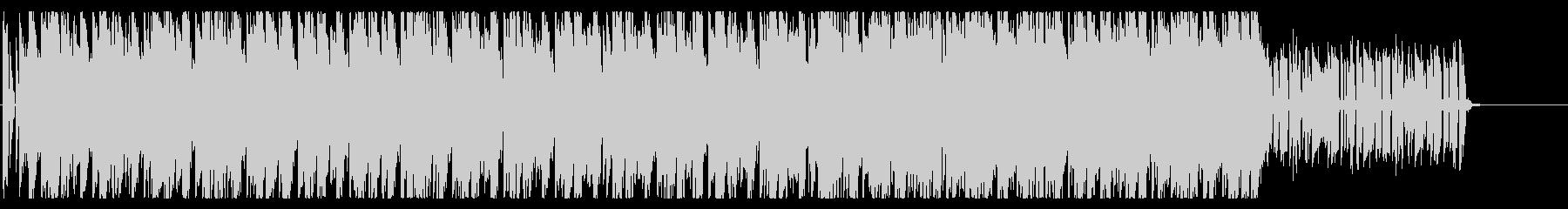 チャイナ感のあるポップの未再生の波形