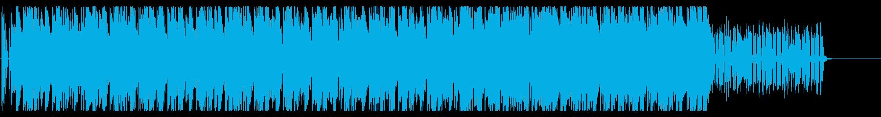 チャイナ感のあるポップの再生済みの波形