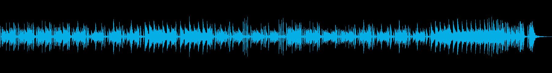 ベートーヴェン、明るいピアノソロの再生済みの波形