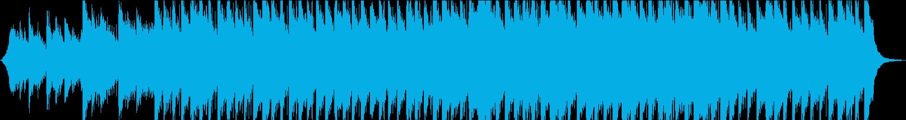 【スライドショーBGM】浮遊感・ピアノ②の再生済みの波形