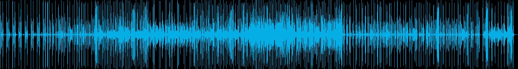 緊張感のあるファンクの再生済みの波形