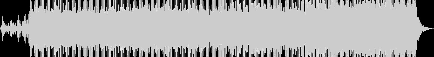無機質でドライ・ダークなテクノ Aの未再生の波形
