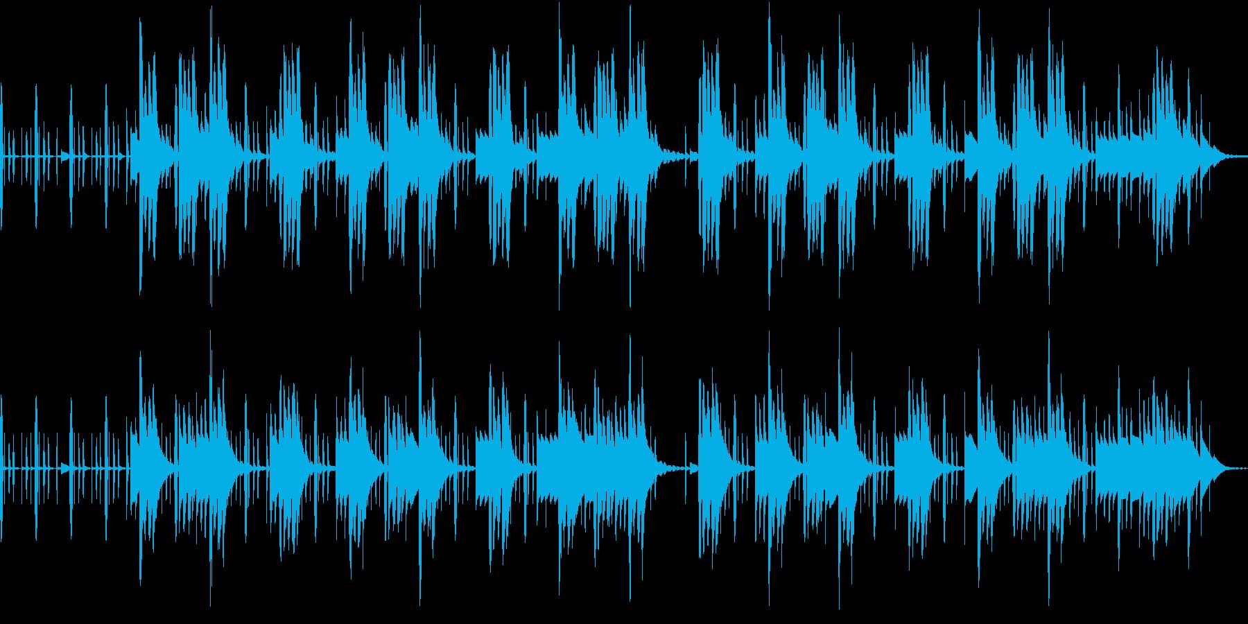 頭脳系ゲームやクイズに合う電子音パターンの再生済みの波形
