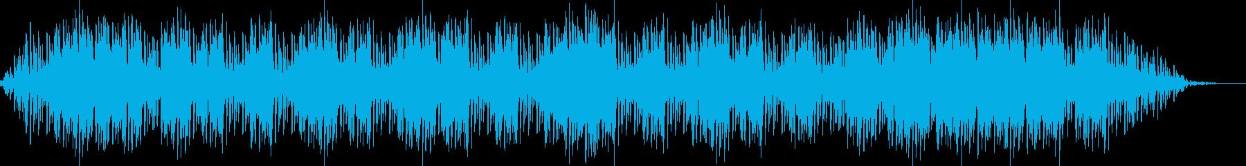 オリジナリティーのある癒しのヒーリング曲の再生済みの波形