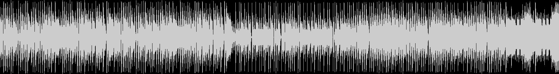 レトロゲーム風ポップで可愛いBGMループの未再生の波形