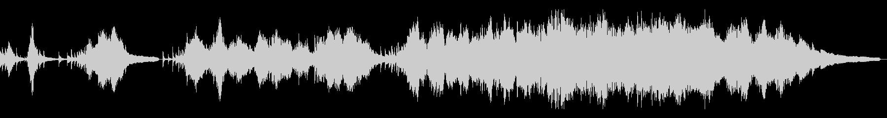 花吹雪/和風の雰囲気12-ピアノソロの未再生の波形