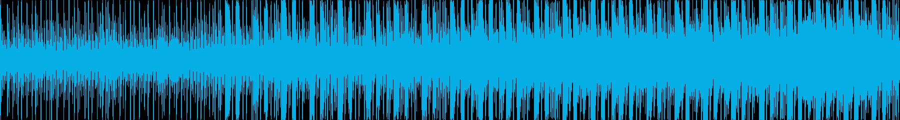 戦闘前のBGMの再生済みの波形